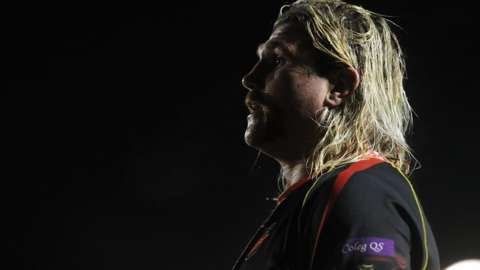 Wales hooker Richard Hibbard reveals his clandestine career in Rugby League Hear the interview in full on the Scrum V podcast on BBC Sounds.