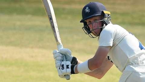 Kent batsman Jordan Cox