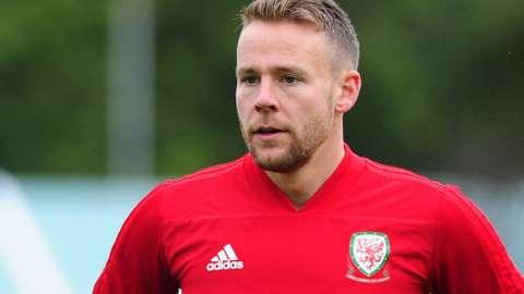 Wales defender Chris Gunter