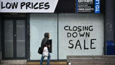 Closed shop in Sunderland