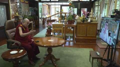 The Dalai Lama speaks to Justin Rowlatt