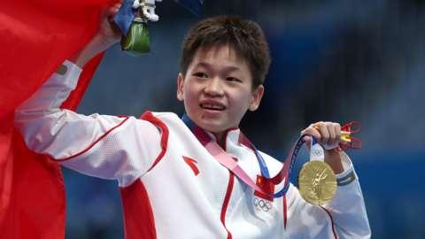 Chinese diver Quan Hongchan