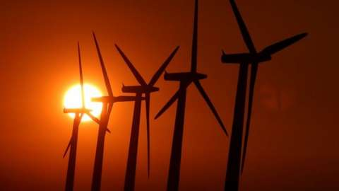 Wind turbines in Oxfordshire