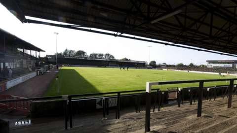 Ayr United's Somerset Park