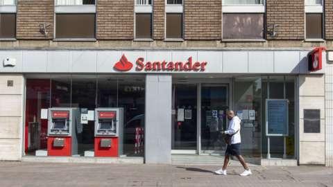 Santander UK branch