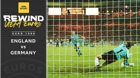 England v Germany - Euro 1996