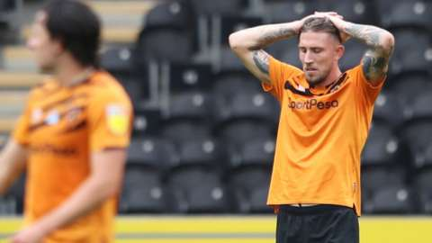 Hull players dejected