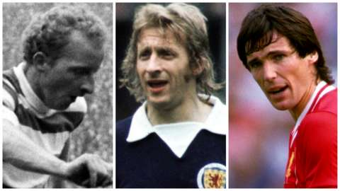 Jimmy Johnstone, Denis Law, Alan Hansen