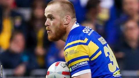 Wigan old boy Dom Crosby first joined Leeds from Warrington initially on loan in July 2017