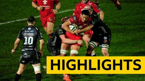 Pro14 highlights: Scarlets 20-3 Dragons