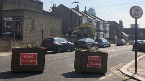Planters in Ealing