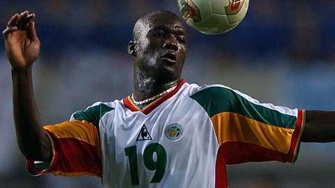 Former Senegal midfielder Papa Bouba Diop