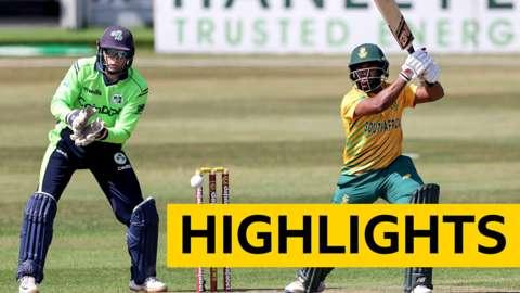 Ireland v South Africa T20