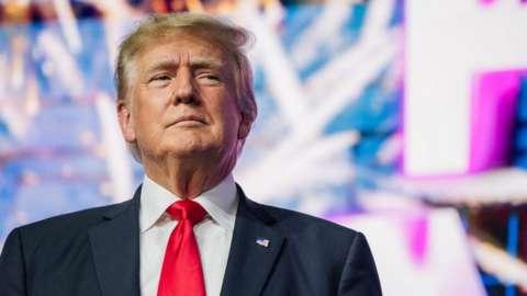 Former US President Donald Trump. Photo: 24 July 2021