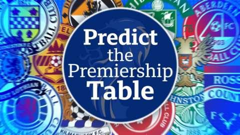 Predict the Scottish Premiership table graphic