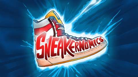 Sneakernomics podcast logo