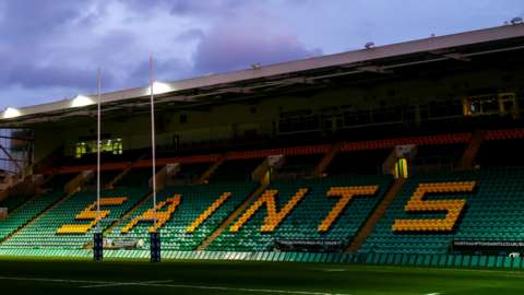 Franklin's Gardens has been Northampton's home since they began playing mens rugby there in 1888
