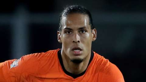 Netherlands defender Virgil van Dijk