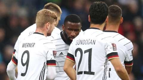 Germany players celebrate
