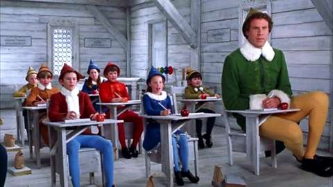 A scene from Elf