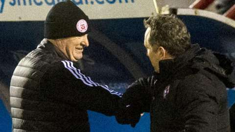 Brian Rice and Micky Mellon