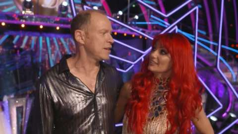 Robert Webb and Strictly partner Dianne Buswell