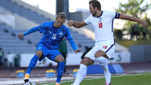Iceland played England in September