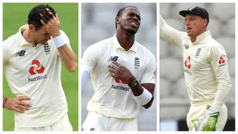 James Anderson, Jofra Archer & Jos Buttler pictures