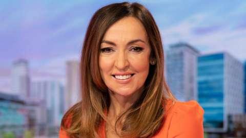 Sally Nugent on BBC Breakfast