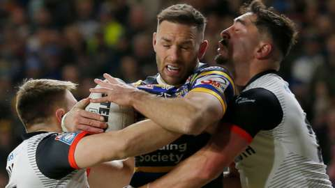 Leeds beat Toronto in the last game played at Headingley on 5 March