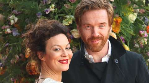 Helen McCrory and Damian Lewis in 2015