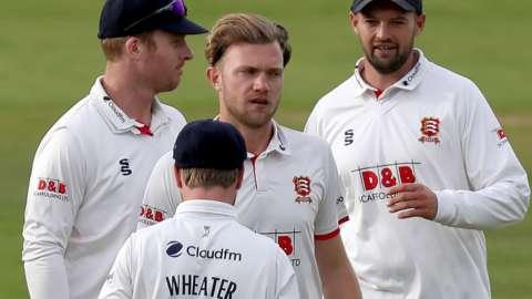 Sam Cook wicket
