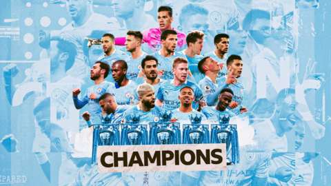 Manchester City win the title