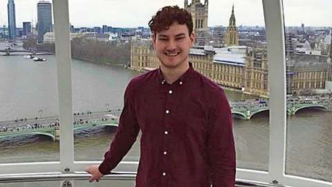 Callen Martin on the London Eye