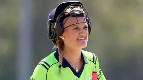 Gaby Lewis put on 145 for Ireland's opening wicket with in-form Leah Paul