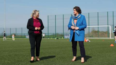 Michelle O'Neill and Arlene Foster