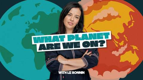 What Planet Are We On brand image with Liz Bonnin
