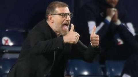 Bilic 'proud' of West Brom despite draw