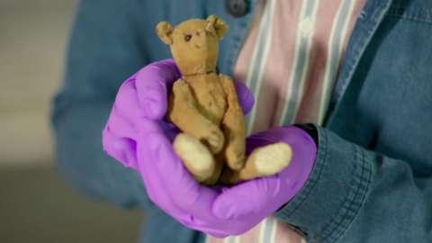 Tommy Tittlemouse the toy bear