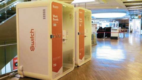 Switch booths in Singapore