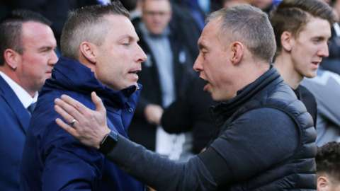 Neil Harris and Steve Cooper