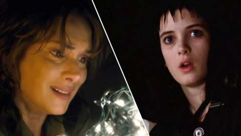 Winona Ryder in Stranger Things and Beetlejuice