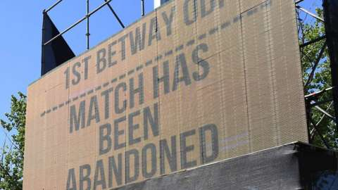 Match Has Been Abandoned