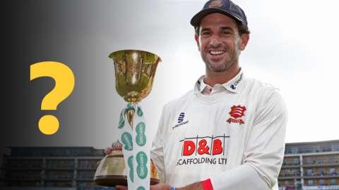 Essex captain Ryan ten Doeschate lifts the trophy in 2019