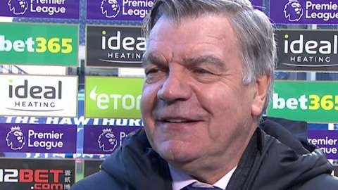 Allardyce delight at 'bizarre' win