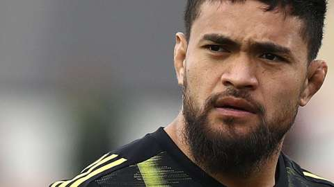 Vaea Fifita in action for Hurricanes