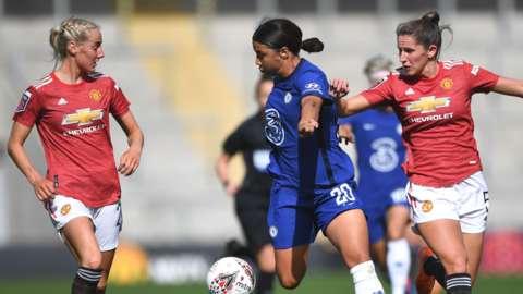 Chelsea Women v Man Utd Women
