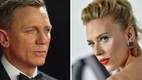 Daniel Craig and Scarlett Johansson