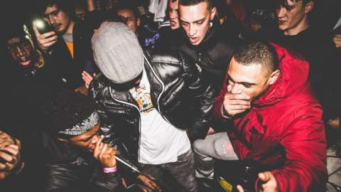 A grime set photgraphed by Courtney Francis