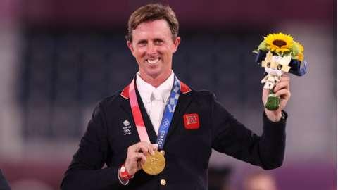 Ben Maher gold medal